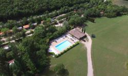 Establishment Camping La Poche - Mirmande