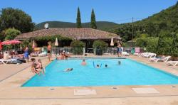 Bathing Camping La Poche - Mirmande