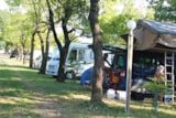 Pitch - Comfort Package (1 Caravan Or Motorhome / 1 Car / Electricity) - Camping du Domaine de Senaud