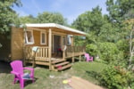 Rental - Cottage Cordelia 31 m² / 3 bedroom - CAMPING LES BASTETS
