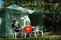 Rental - Furnished tent - Château le Verdoyer