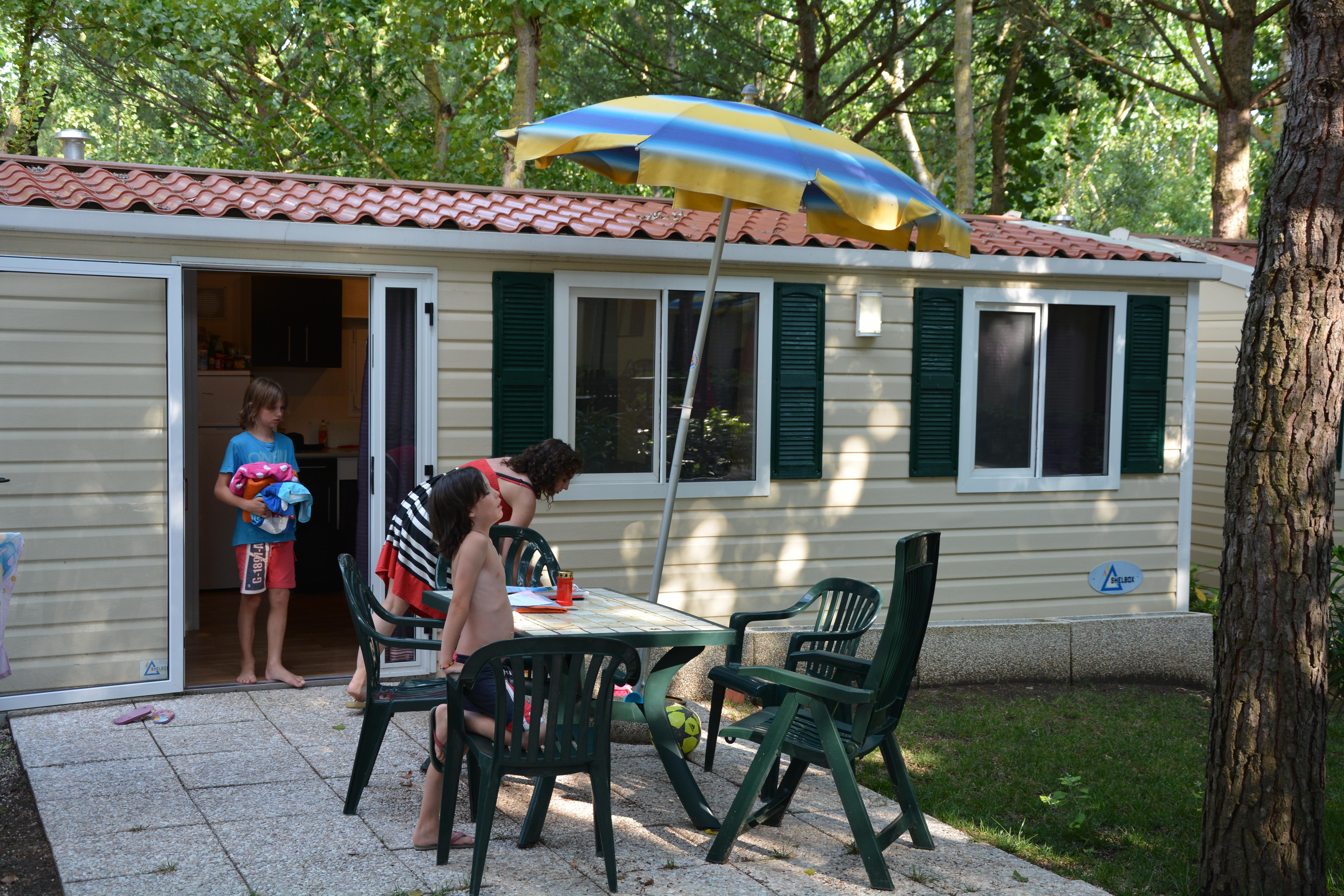 Location - Mobilhome Luxe Pour Handicapé 6 Pers - CAMPING VILLAGE BADIACCIA