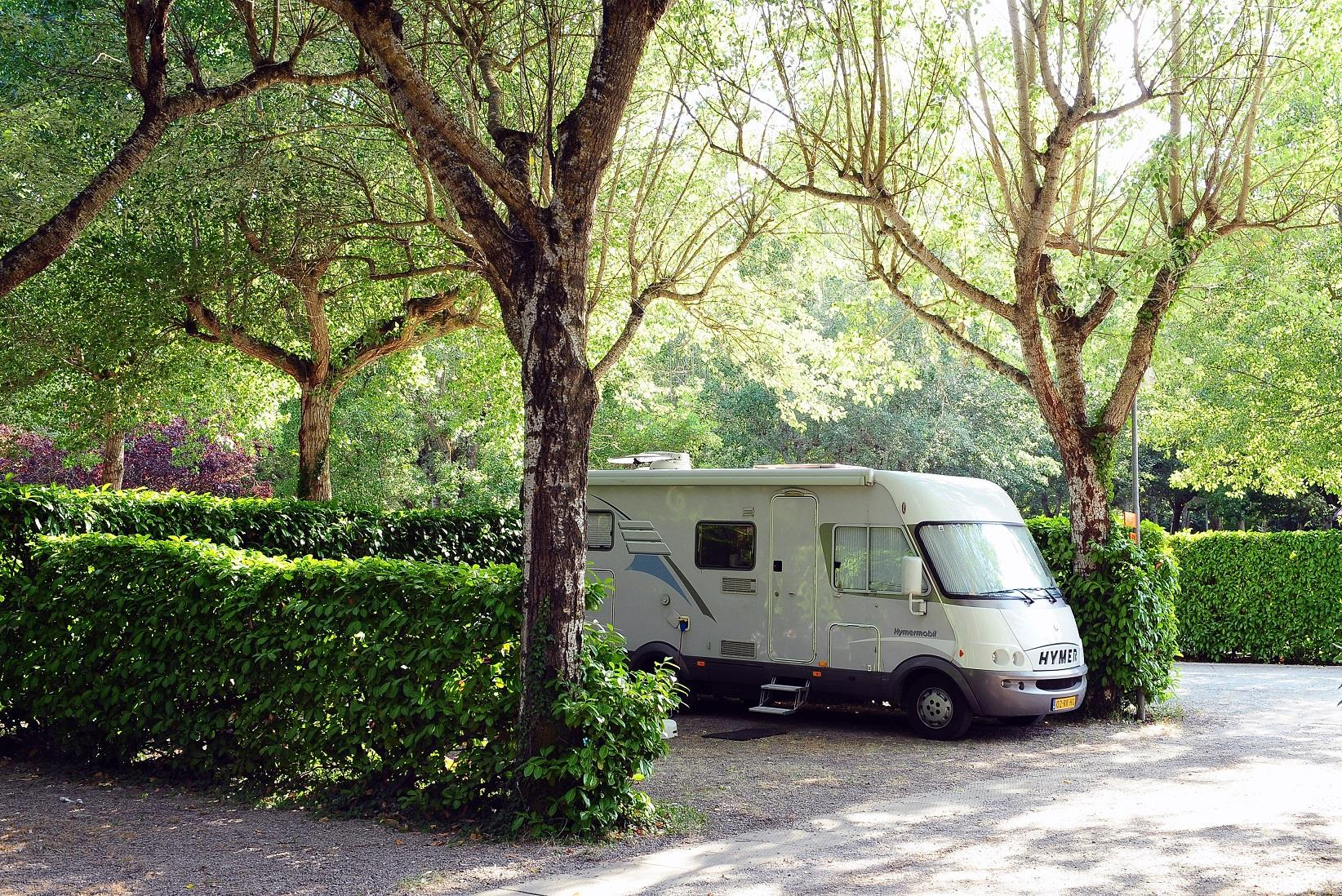 Pitch camping car for Camping delle piscine sarteano siena