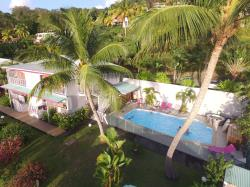This Rental Is Located On The French West Indies Island Of Guadeloupe Where Our Campsite Propose You Its Rentals, 2 Bedrooms,  With A Great Sea View