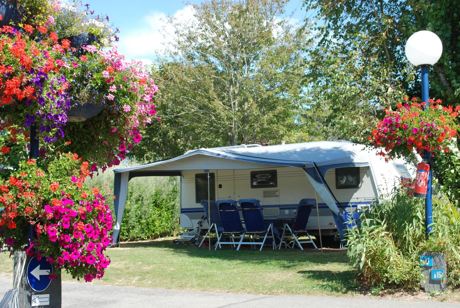 Emplacement - Emplacement Grand Confort - Camping Les Embruns
