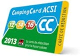 Pitch - Camping pitch - ACSI card - Camping les Embruns