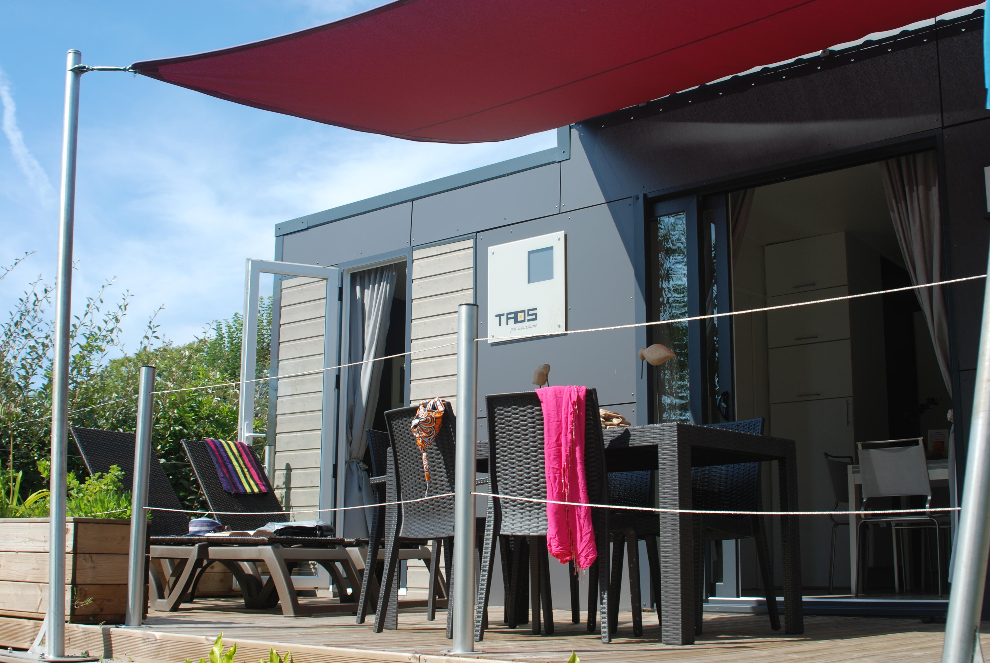 Location - S-Cottage Privilège Ty Taos 5 - Camping Les Embruns