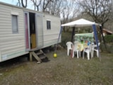 Rental - Mobil-Home Classic 2 Bedrooms - Camping Le Picouty