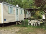 Rental - Mobil-Home Confort + 2 Bedrooms - Camping Le Picouty