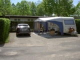 Pitch - Pitch caravan with electricity - Camping La Marjorie