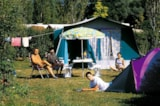 Pitch - Pitch Tent with electricity - Camping La Marjorie