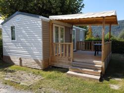 Accommodation - Cottage Super Cordelia 3  - 3  Zimmer - 30,5M² - Camping du Lac du Lit du Roi
