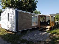 Accommodation - Cottage Loggia 2 - 2 Bedrooms - 27M² - Camping du Lac du Lit du Roi