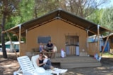 Rental - Safari Lodge Tents - Camping Village Punta Navaccia