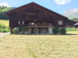 Appartment in An old Farm Le Saugy in Grand Bornand - 3.8 km from L'Escale
