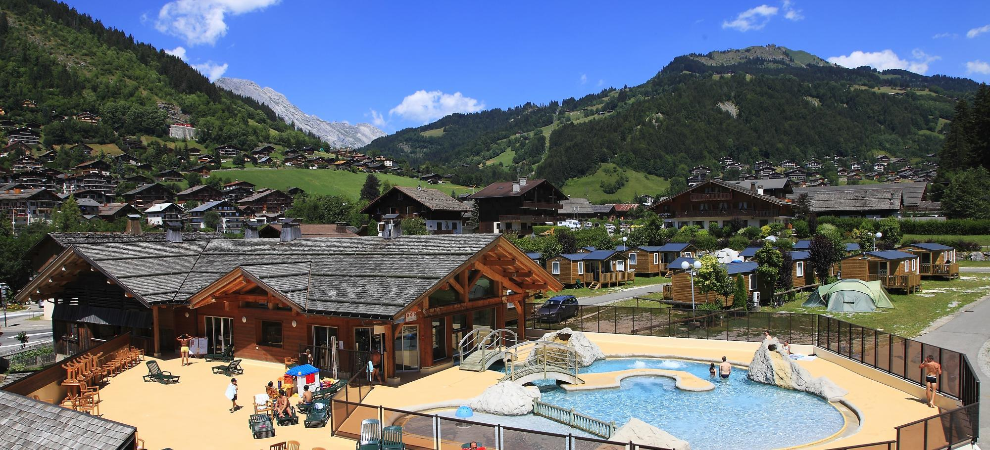 Establishment Camping L'Escale - Le Grand Bornand