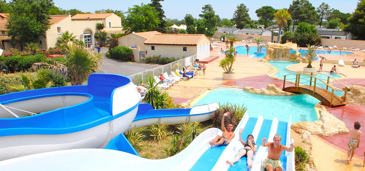 Mare, piscina Camping Les Mûriers - Vendres-Plage