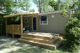 Rental - Cottage - 2 bedrooms - 160 (Saturday) - Camping DOMAINE DE GIL