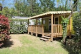 Rental - Cottage Famille - 2 Bedrooms - 160 (Saturday) - Camping DOMAINE DE GIL