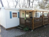 Rental - Residence noisette  with Covered Terrace - Camping LA GARENNE