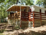 Rental - De luxe Residence SUMBA with Covered Terrace TV - Camping LA GARENNE
