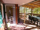 Rental - Residence LOUISIANE with Covered Terrace - Camping LA GARENNE
