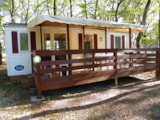 Rental - Residence TITANIA with Covered Terrace - Camping LA GARENNE