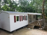 Rental - Residence DES BOIS with covered terrace - Camping LA GARENNE