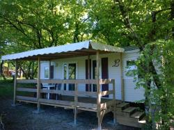 Rental - Residence FLORES with Covered Terrace - Camping LA GARENNE