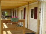 Rental - De luxe Residence Le Paradis with Covered Terrace TV - Camping LA GARENNE