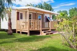Mobile-home 3 bedrooms & terrace