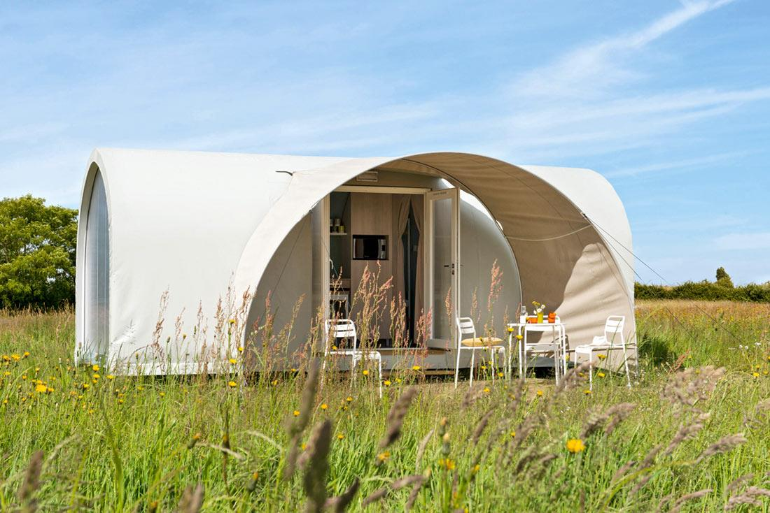 Huuraccommodaties - Tent Coco Sweet** (1 Kamer) - YELLOH! VILLAGE - LE RIDIN