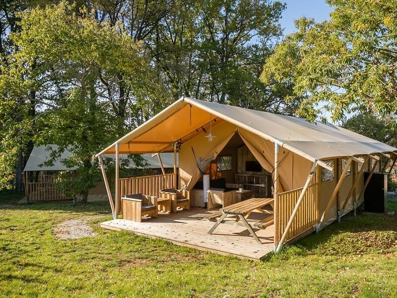 Location - Eco Lodge Grand Luxe - Camping Rondin des Bois