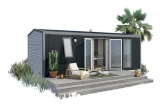Mobile home - 2 bedrooms - air-conditioning ***