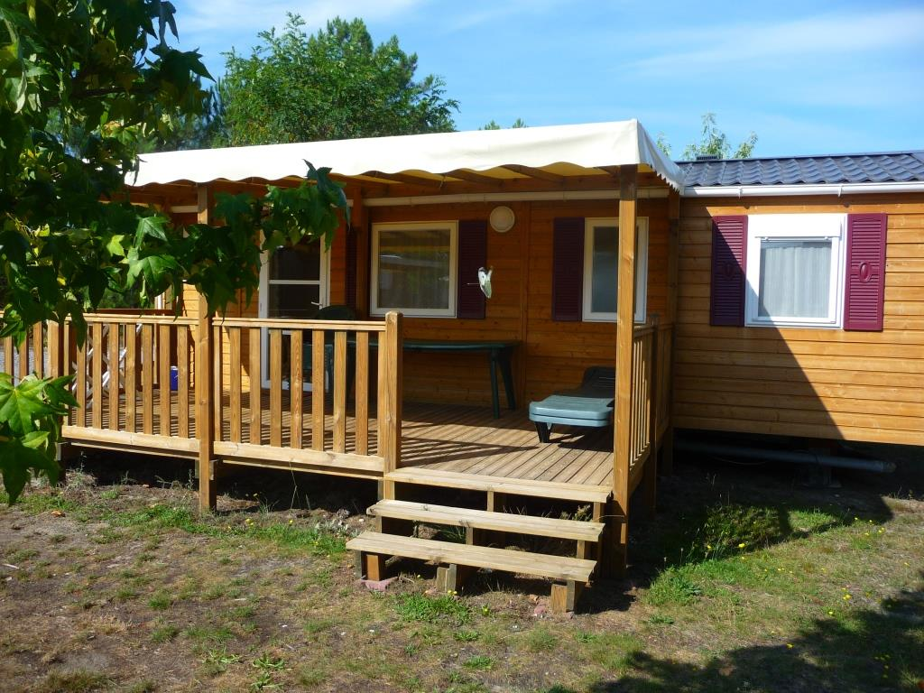 Locatifs - Mobilhome Confort 2 Chambres - Camping  Landes Oceanes