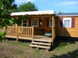 Rental - Mobile-home Confort 2 bedrooms - Camping LANDES OCEANES