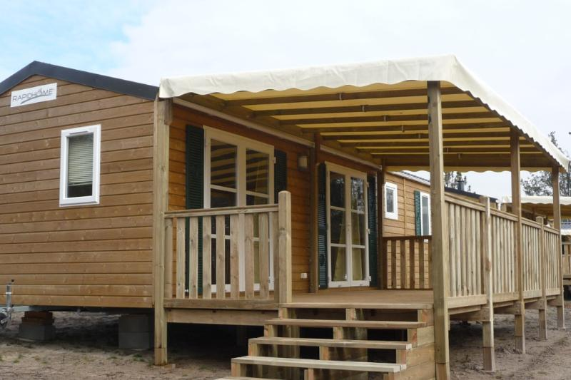 Locatifs - Mobilhome Grand Confort  2 Chambres - Camping  Landes Oceanes