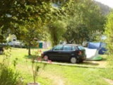Pitch - Pitch : car + tent/caravan or camping-car without electricity - Camping Frederic Mistral