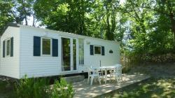 Huuraccommodaties - Stacaravan Traditionnel 23M² - Camping Notre Dame