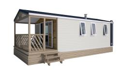 Huuraccommodaties - Mobil-Home Supérieur Loggia Bay 27 M² - Camping Notre Dame