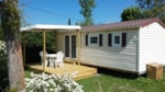 Rental - Mobile home Azuréa (2 bedrooms) - Camping Sites et Paysages Les PRAIRIES