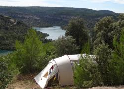 Pitch Trekking Package by foot or by bike with tent