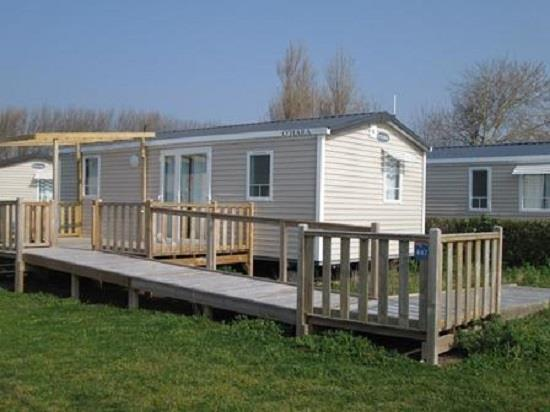 Mobile home 32m 2 bedrooms terrace wheelchair friendly for Ada modular homes