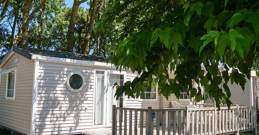 Locatifs - Mobilhome Confort+ 31M² (3 Chambres) + Terrasse Semi-Couverte 18M² - Camping Les Paludiers