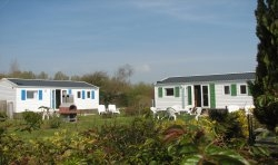 Location - Mobilhome Special Couple - Camping La Ferme de Mayocq
