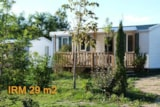 Rental - Mobile Home Irm 29M² - Camping L'EAU VIVE