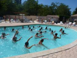 Entertainment organised Camping L'eau Vive - Dauphin