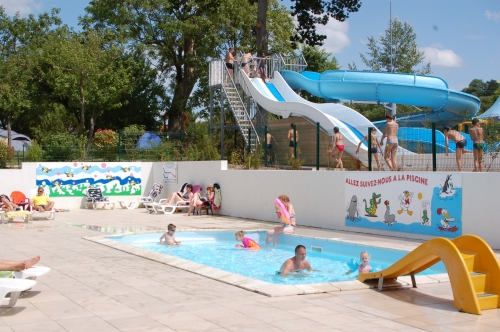 Mare, piscina Camping LA VALLEE - Houlgate