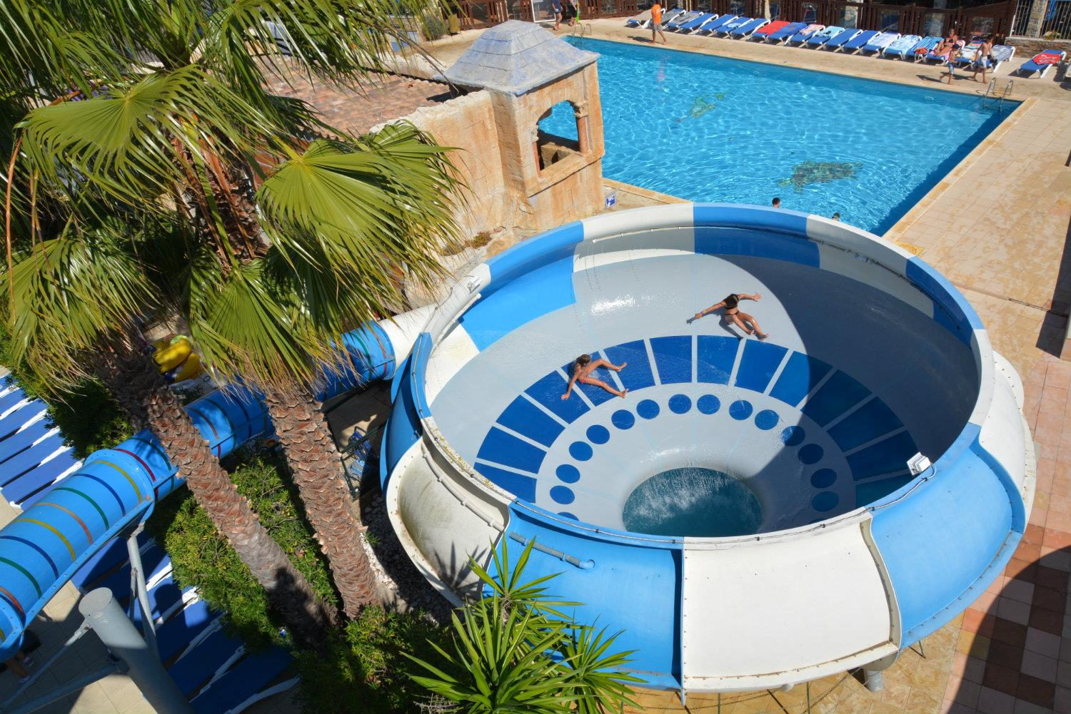 Mare, piscina Camping les MIMOSAS - Portiragnes Plage
