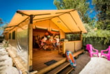 Rental - Walibou Lodge Confort, About 30M², On Stilts, 2 Rooms - Camping Californie Plage